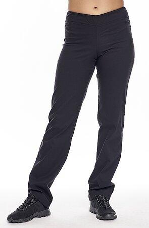 Funkčné teplejšie čierne dámske nohavice 371
