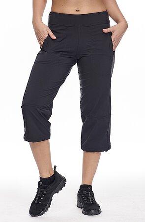 Funkčné čierne dámske 3/4 nohavice 279