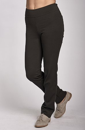 Čierne dlhé dámske nohavice 359