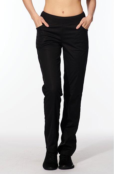 Softshellové čierne dámske nohavice 941