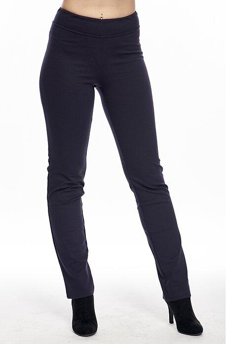 Tmavomodré dlhé dámske nohavice 359